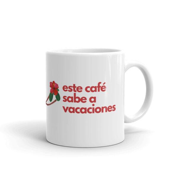 vacaciones y café